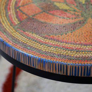 bàn trà nghệ thuật đại liên hoa 2