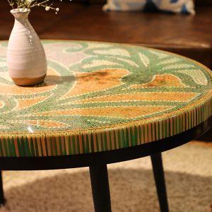bàn trà nghệ thuật đường cong ii 2
