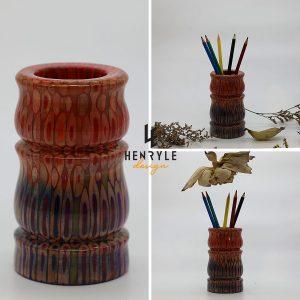 bình hoa trang trí trúc nhãn