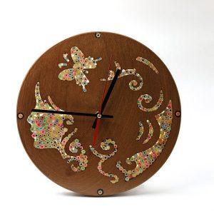 đồng hồ treo tường trang trí nàng thơ Urania